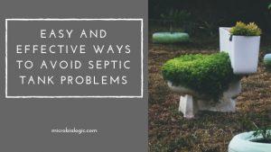 Avoid Septic Tank Problems