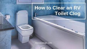 RV Toilet Clog