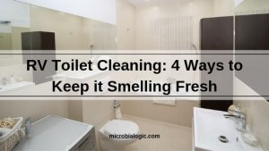 RV Pit Toilet Cleaning