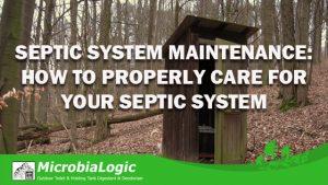 Septic System Maintenance