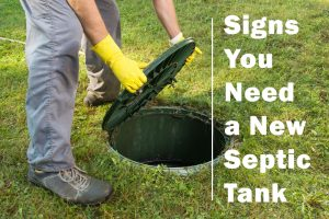 Need a New Septic Tank
