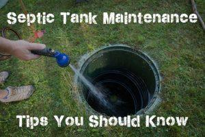 Septic Tank Maintenance Tips